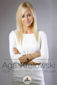 Aga Kretowski - real estate broker glenview il - Phone: (847) 912-6058