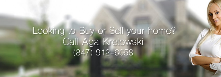 looking to buy or sell your home ? Call Aga Kretowski (847) 912-6058 - real estate broker glenview, il